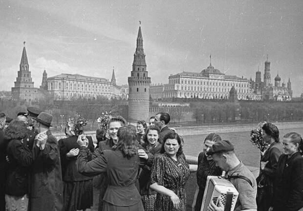 Москва в мае-июне 1945 года