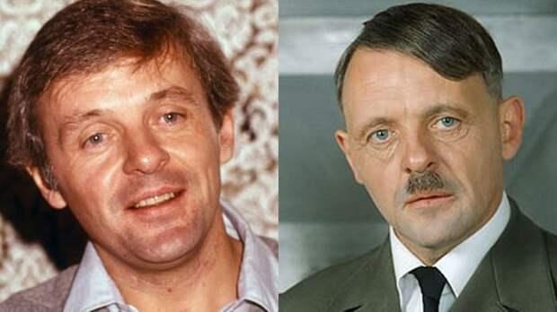Энтони Хопкинс сыграл Гитлера в фильме *Бункер*, 1981   Фото: kino.mail.ru