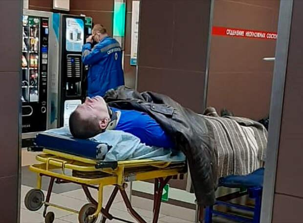 Избитый службой безопасности «Зенита» болельщик был пьян - по версии стюардов. Заявление победителей: этот фанат не пьет спиртного уже 15 лет