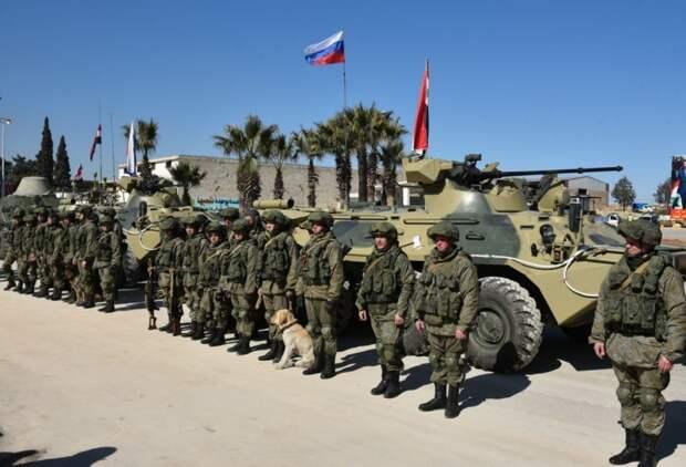 Российские военные в Сирии. Источник изображения: https://vk.com/denis_siniy