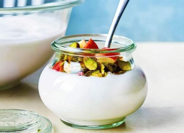 Очень вкусный йогурт. \ Фото: natigemilk.com.