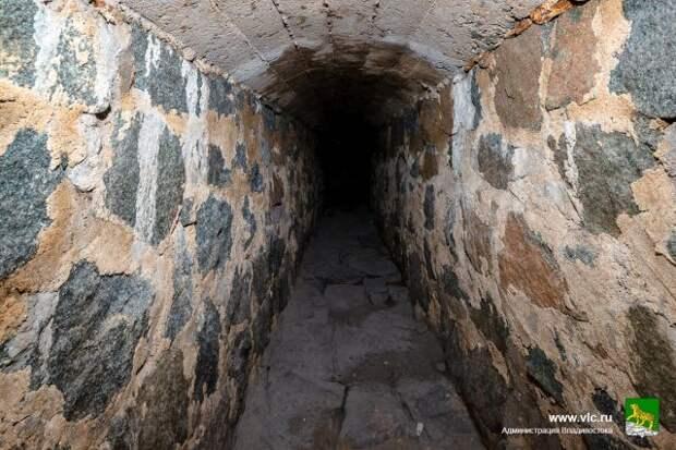 Во Владивостоке законсервируют найденный во время стройки тоннель