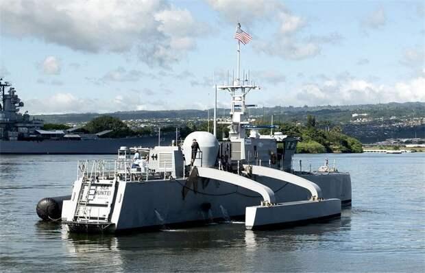 Морской беспилотник – обоюдоострое оружие ВМС США