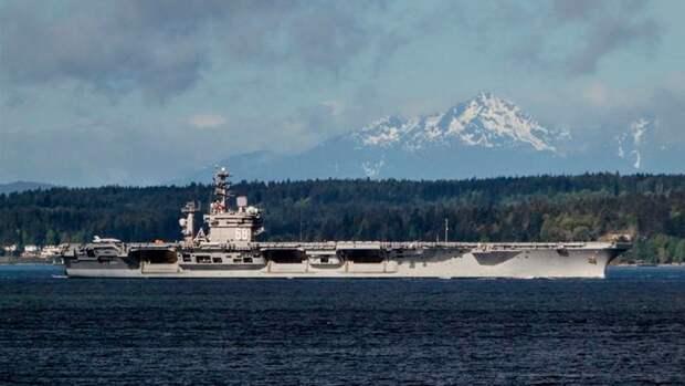 В США хотят пустить ко дну авианосец USS Nimitz ради прогресса в военной сфере