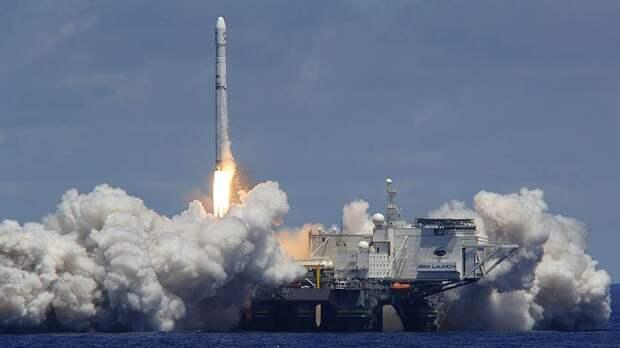 «Морской старт» дал ракетный сбой
