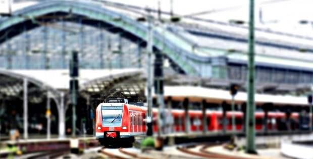 Центральный Вокзал, Железнодорожная Станция, Поезд