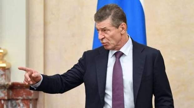 Козак: Киев изо всех сил стремится к войне на Донбассе