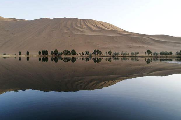 Китайские озера стали более прозрачными – исследование