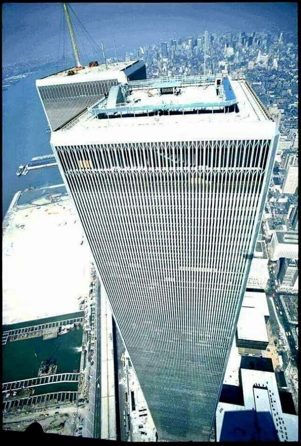 Башни-близнецы в70-е: как выглядел Всемирный торговый центр всамом начале