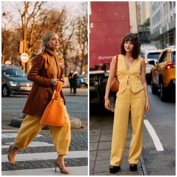 С чем носить желтый цвет– самый актуальный тренд 2021 года?