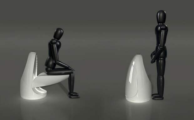 Футуристический унитаз-трансформер Ultimate Toilet
