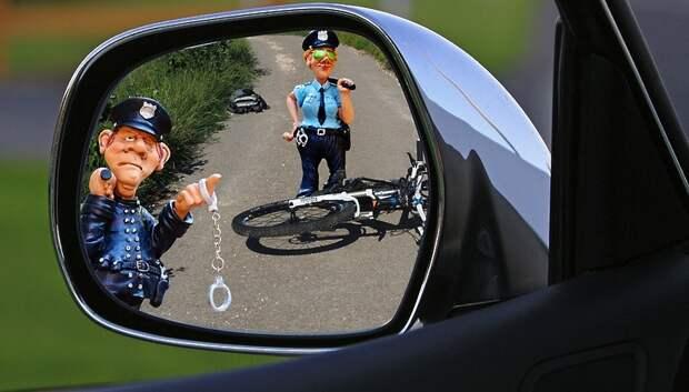 В Подольске водитель фургона сбил 8‑летнего мальчика на велосипеде