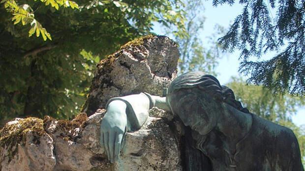 красивое кладбище Хорватии