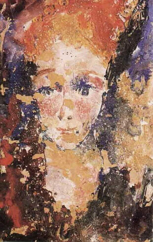 1962 Портрет девушки (379x600, 97Kb)