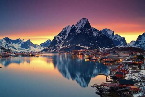 Лофотенские острова, Норвегия путешествия, факты, фото