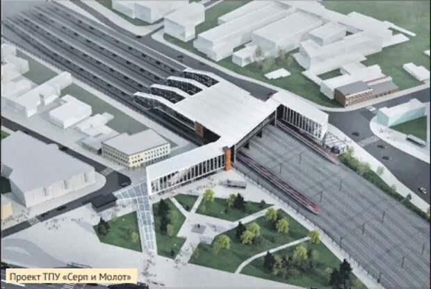 Остановку МЦД-2 в Лефортове планируют перенести