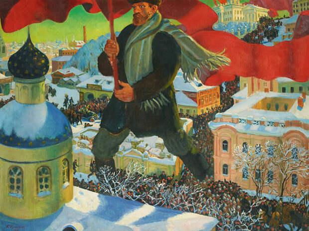 Колчак против Ленина