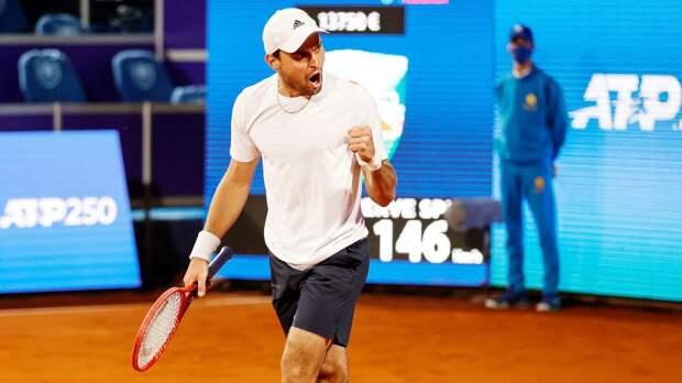 Российского теннисиста нарекли Королем Нарнии