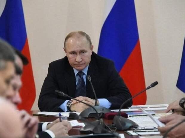 Доход Путина увеличился почти до 10 млн рублей в 2020 году