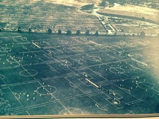 88 футбольных полей в одном месте, Лондон, 1951 г. история, события, фото