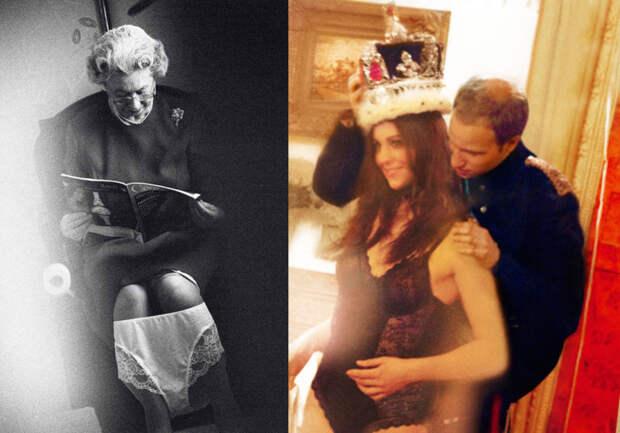 «Меган Маркл, стриптизер, сливки и голые особы королевских кровей»: новая фотовыставка сорвет британцам башню