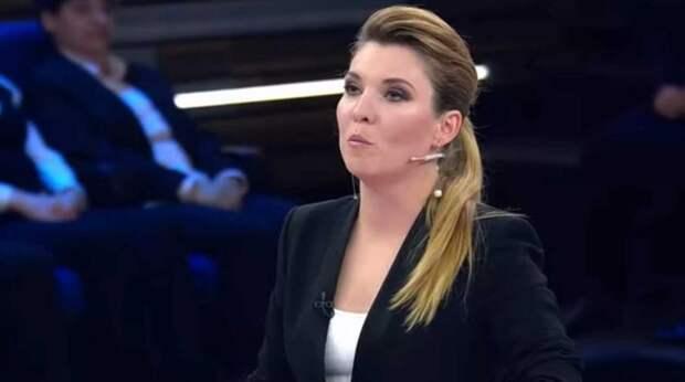 Скабеева приструнила украинского журналиста из-за обвинений в пропаганде