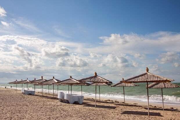 Новая набережная в Саках «съест» 70 из 100 метров песчаного пляжа