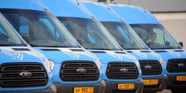 Интервалы движения автобусов, курсирующих между Строгино и Красногорском, сокращены до 25 минут
