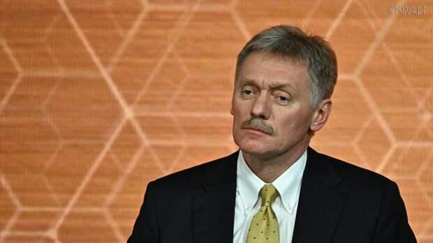 Песков ответил на предложение Кадырова избрать Путина пожизненным президентом