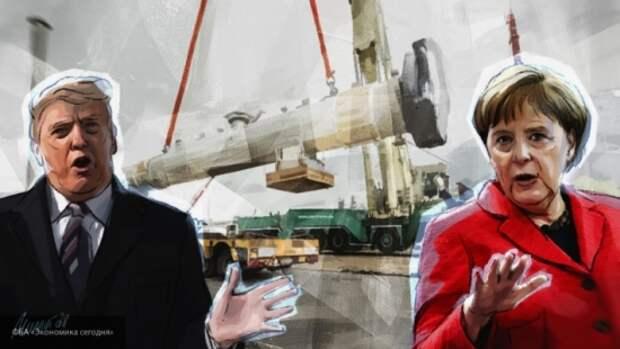 США при помощи Украины хотят остановить строительство «Севпотока-2»