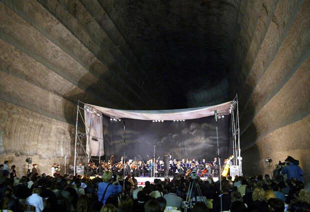 Концерт донбасского симфонического оркестра в Солигорске, Донецкая область, Беларусь