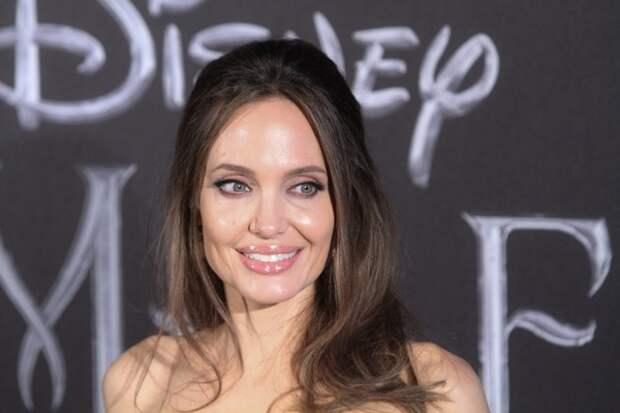 Анджелина Джоли хочет продать раритетную картину Черчилля, подаренную ей Бредом Питтом