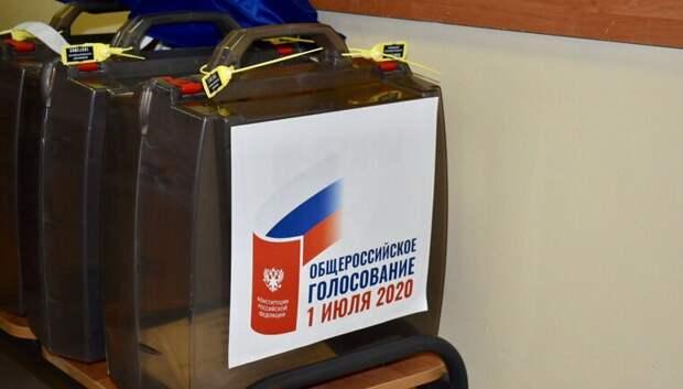 Воробьев: Голосование по Конституции проходит в Подмосковье без нарушений