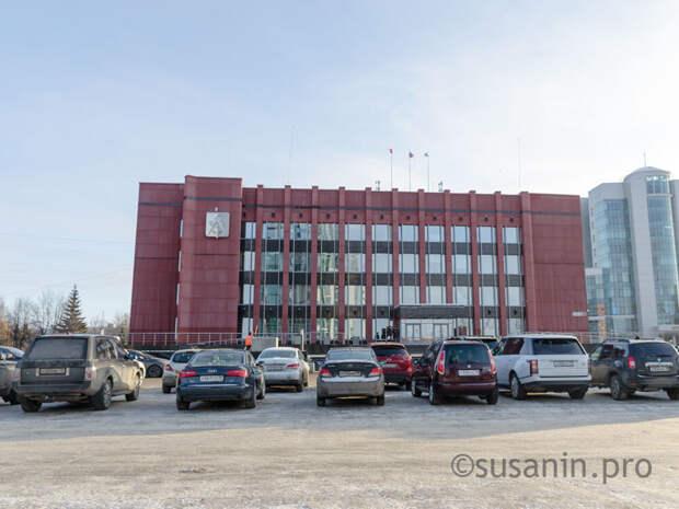 В Ижевске запретят парковку напротив здания городской администрации