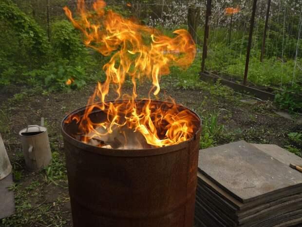 Какой штраф грозит за сжигание мусора на своем участке?