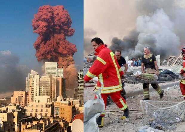 Трагедия в Бейруте: в руинах находится практически весь город