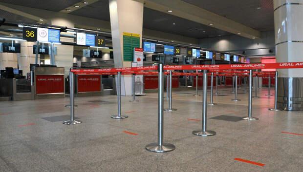 Аэропорты Московского региона смогут полностью восстановить работу не ранее 2023 года