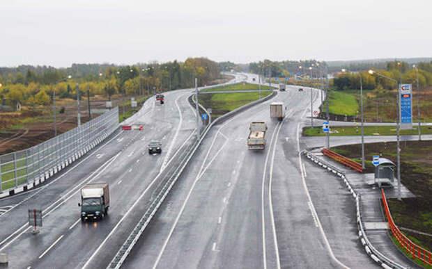 Названы самые загруженные дороги России. Топ-10
