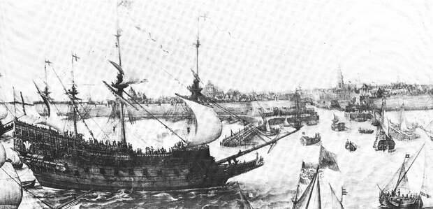 Английский корабль Prince Royal, построенный по мотивам Tre Kroner - Датский флот нового времени: типы кораблей   Warspot.ru
