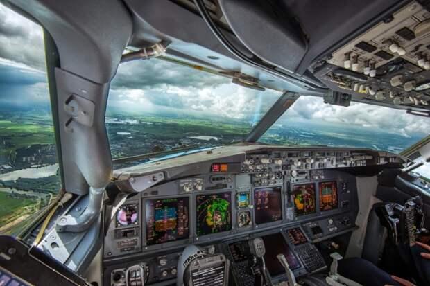 fromcockpit16 25 фотографий, сделанных пилотами из кабин самолетов