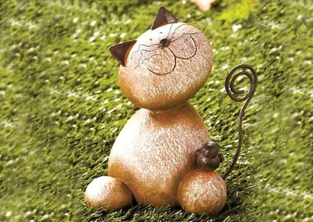 Поделки для дачи своими руками: 30 фигурок из камней