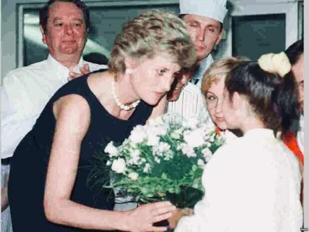 Принцесса Диана в Москве: 1995 год