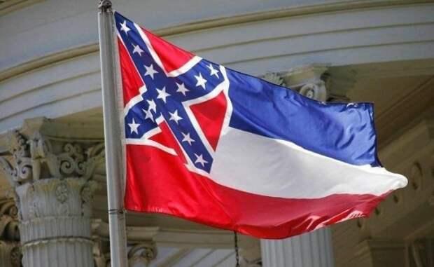 Вштате США решили сменить флаг из-за «расистской» символики Конфедерации