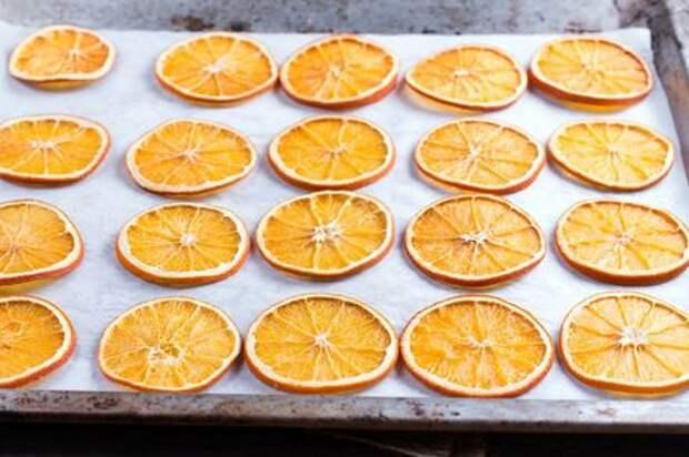 Сушеные апельсины: вкусное угощение и красивая идея для декора. Этап: 6