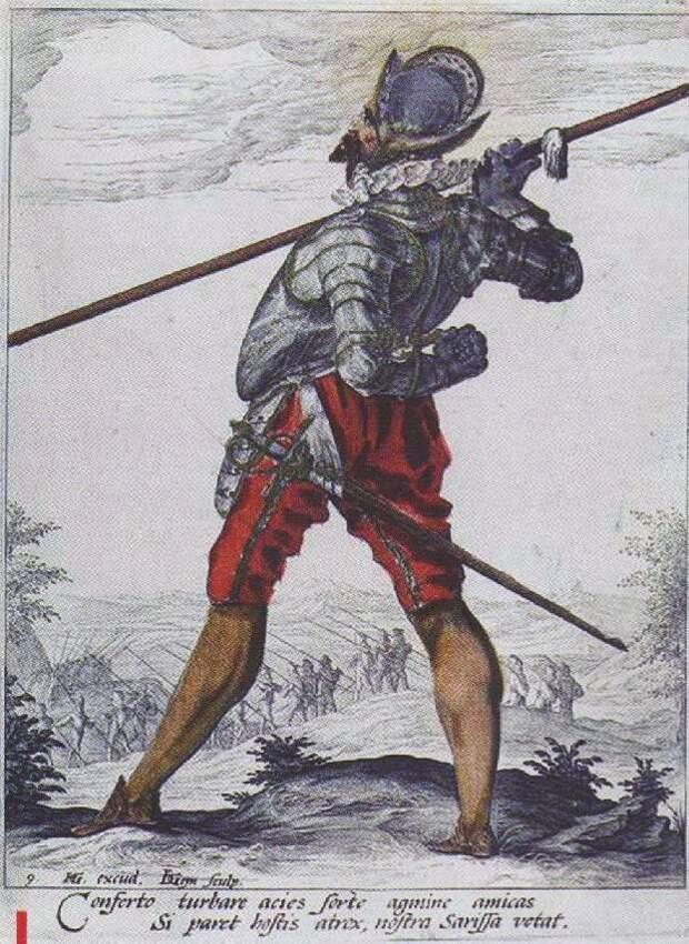 Средневековые пикинеры. Доспехи