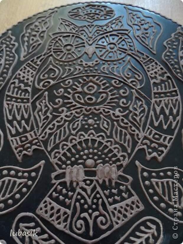 Декор предметов Мастер-класс Роспись Как я делала панно - по просьбам мастериц фото 35