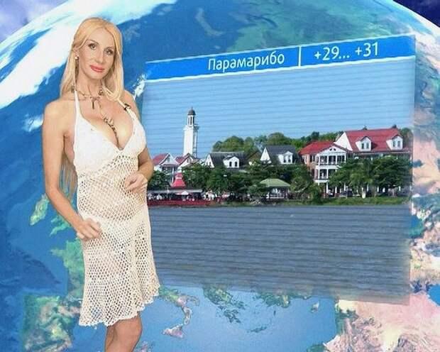 телеведущая