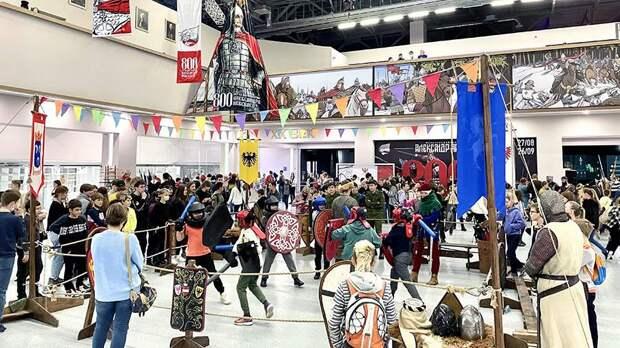 Фестиваль «Александр Невский» на ВДНХ посетило более 10,2 тыс. школьников