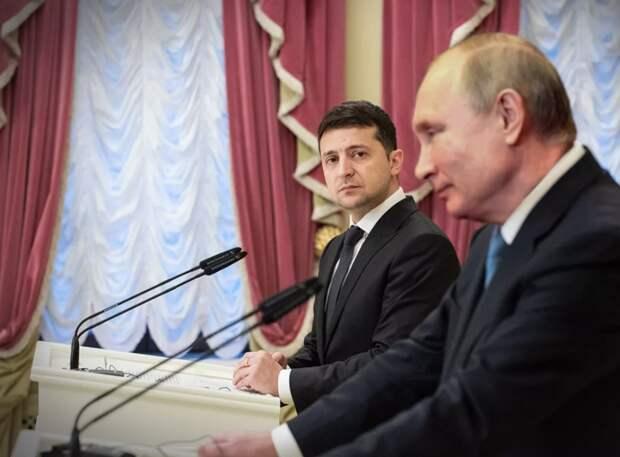 Украинцы уверены, что Зеленскому нужно наладить диалог с Путиным