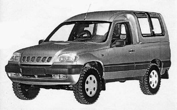 Chevrolet Niva - пикап и фургон